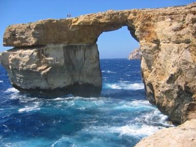 Azur Window, Malta