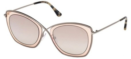 Tom Ford India Sunglasses in Blush Pink