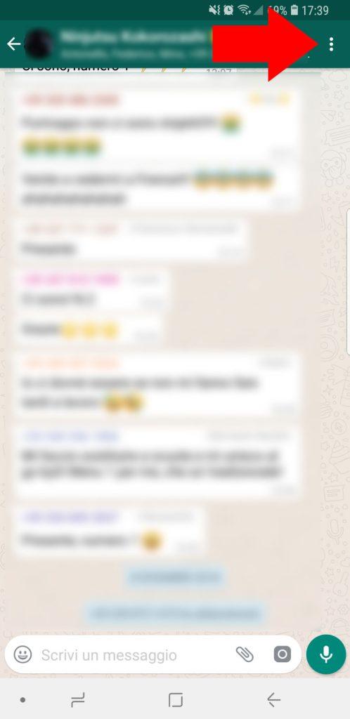 disattivare notifiche gruppi whatsapp - 001