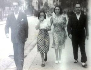 mamma e papà con i Perricone