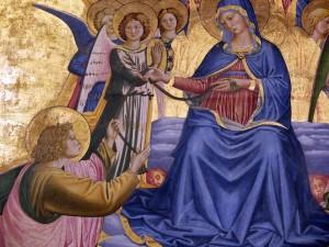 Benozzo Gozzoli  Madonna della Cintola_Montefalco_dettaglio_1