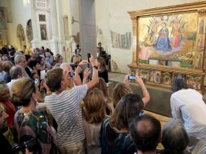 Benozzo Gozzoli  Madonna della Cintola_Montefalco_inaugurazione 19 7 2015