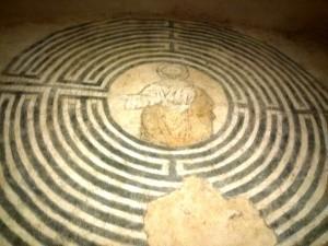 Cristo Misterioso nel labirinto di Alatri