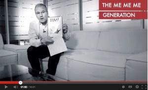 La Me-me-me Generation vue par Philippe Lentschener, CEO de McCann Paris
