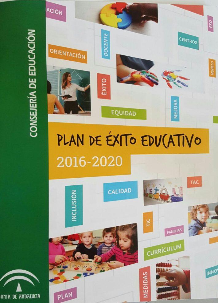 Plan de Éxito Educativo de Andalucía 2016-20