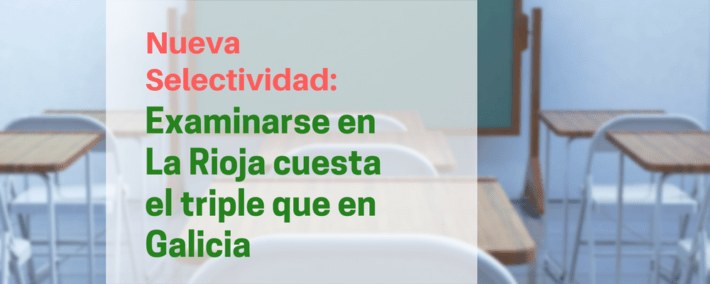 España y sus 17 selectividades: examinarse en La Rioja cuesta el triple que en Galicia