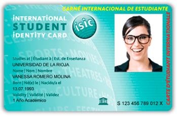 Carné Internacional de Estudiante (ISIC)