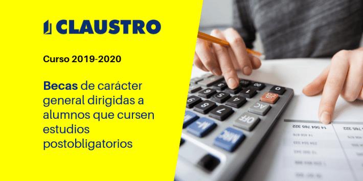 Becas y ayudas para estudiantes (curso 2019-2020) - Academia CLAUSTRO