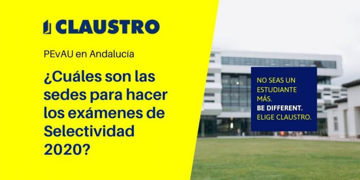 Consulta las sedes de la Selectividad en Andalucía (julio 2020)