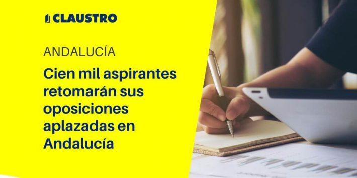 Andalucía reprograma los exámenes de oposiciones previstos en 2020 hasta final de año