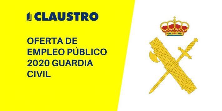Se autoriza la convocatoria de 2.154 plazas para ingreso directo en la Escala de Cabos y Guardias del Cuerpo de la Guardia Civil.