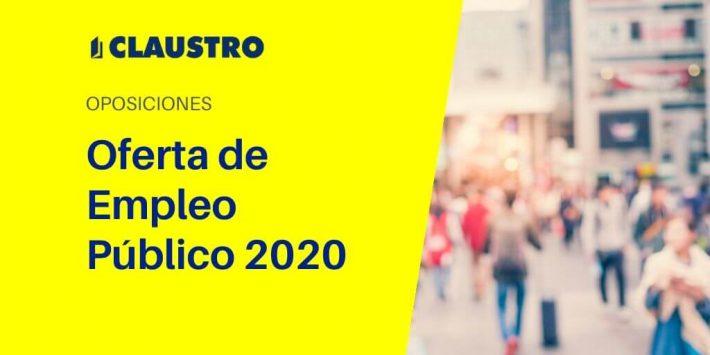 Te contamos todos los detalles de la Oferta de Empleo Público para 2020