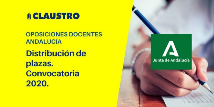 Se conoce el número de plazas de las oposiciones docentes que se convocarán en Andalucía
