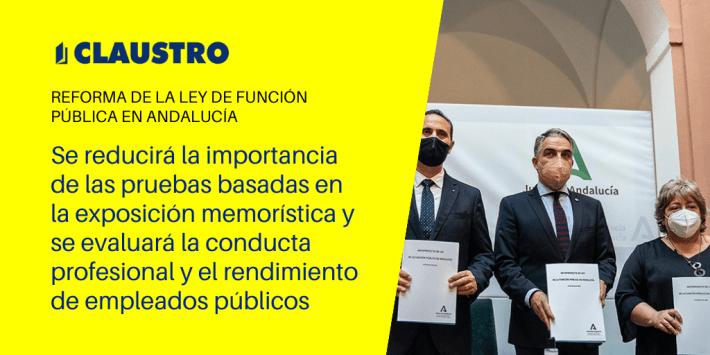 ¿Cómo será la nueva ley de Función Pública de Andalucía?