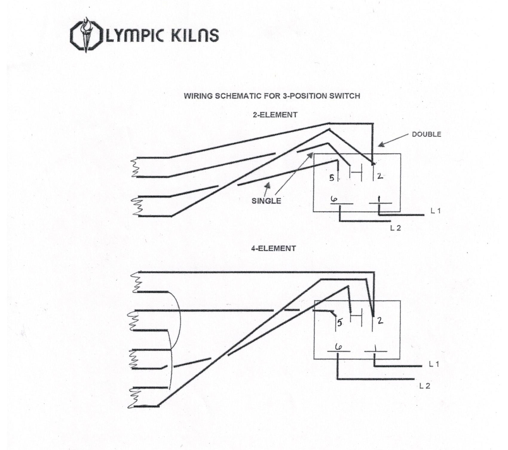 Wiring Diagram For Electric Kiln