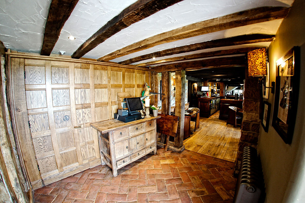 Pheasant Inn Tiles and Wood Flooring