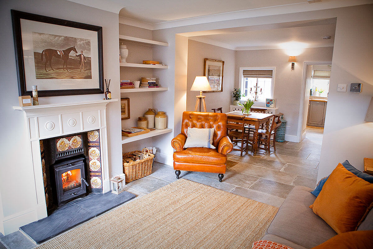 Living Room Porcelain Floor Tiles