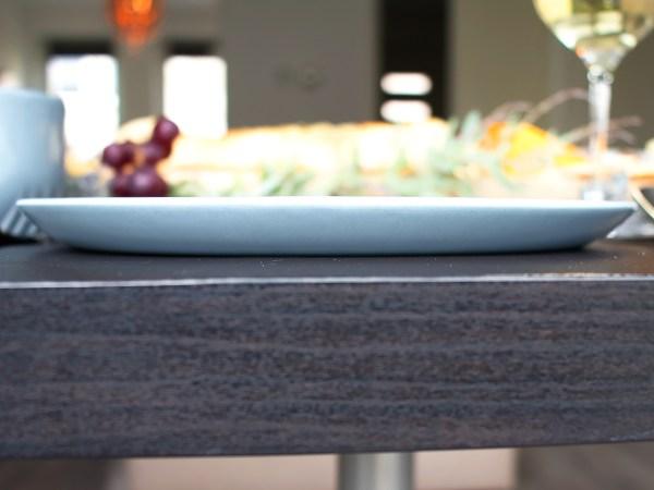 Ontbijtbord blauwgrijs Clayish