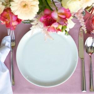 ontbijtbord wit