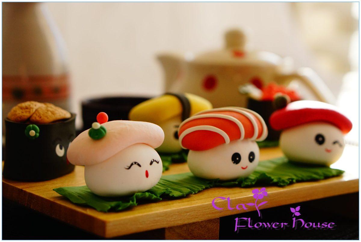 Cute Sushi Plate