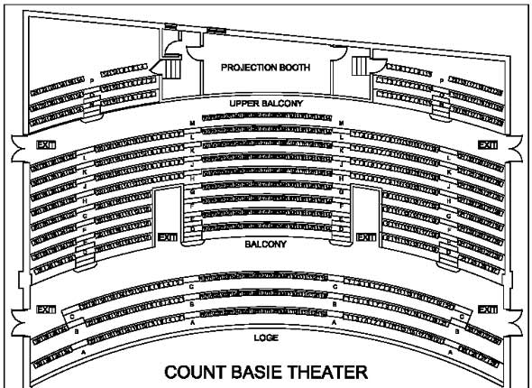 Count basie theater seating chart www napma net