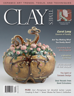 Summer 2011 Clay Times cover