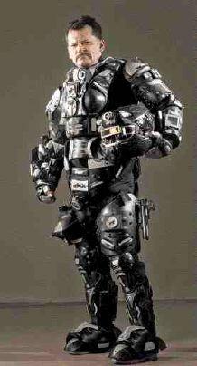 Troy Hurtubise's Trojan Suit
