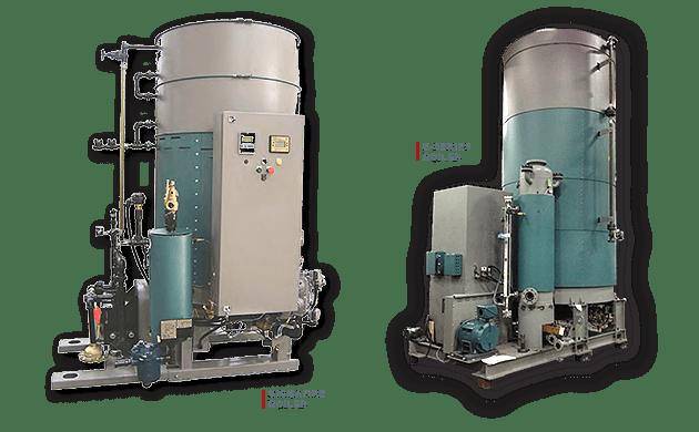 Clayton Industries Sigmafire Boiler and E-Serias Boiler