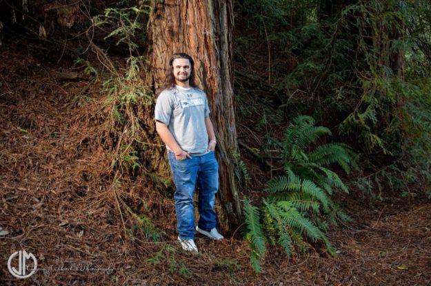 Senior_Portrait_At_Redwood_Regional_Park_Oakland