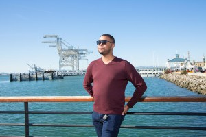 man in sunglasses at jack London square