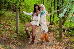 Scout Girls Fashion shoot