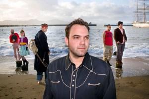 Band photo in SF Marina