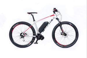 Electric bike product photo