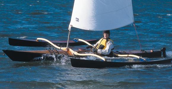 Image result for sailing kayak