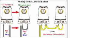 CLC Bulbs » Blog Archive » T12 toT8, Simplifed Wiring for your customer