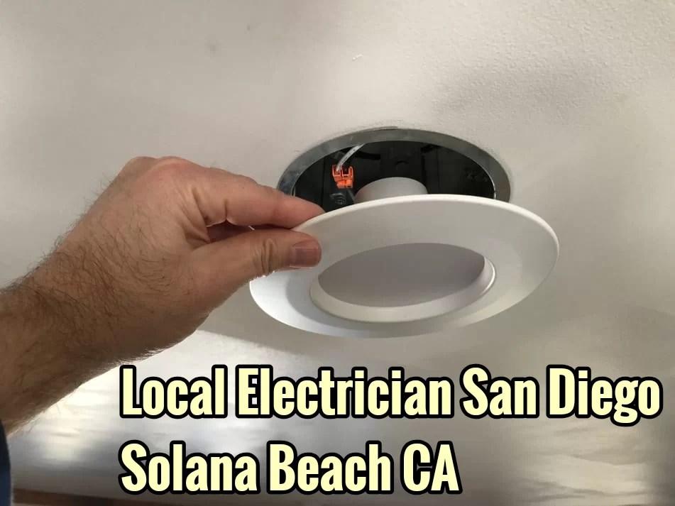 Local Electrician San Diego Solana Beach CA