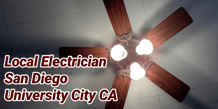 Local Electrician San Diego University City CA