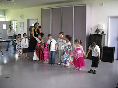 Tous les enfants ont présenté leur spectacle aux parents ...