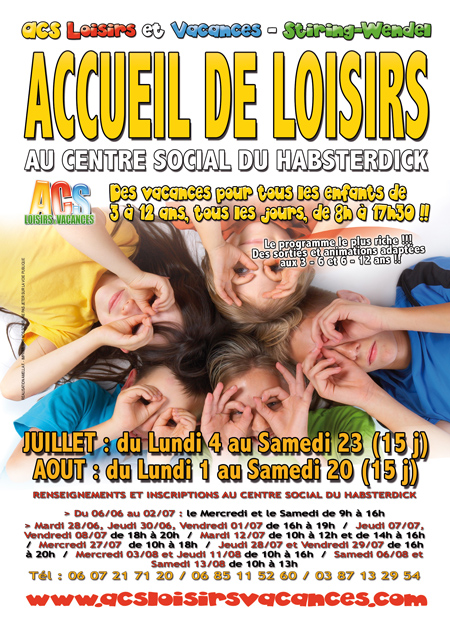 Le programme d'activité sera distribué dès cette semaine dans toutes les écoles de Stiring-Wendel, Forbach et environs