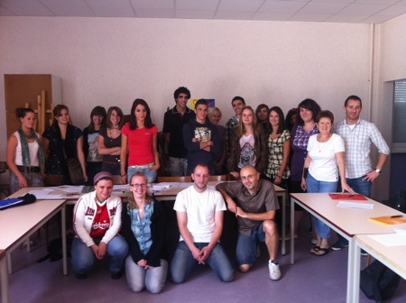 L'équipe de la session de Juillet 2011