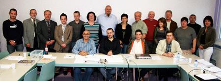 Les membres fondateurs, les invités officiels et le CA de l'ACS Loisirs et Vacances