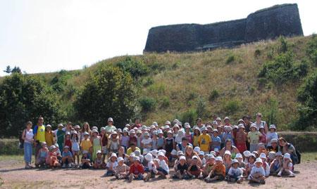 Plus de 140 personnes ont participé à cette visite de la citadelle de Bitche !