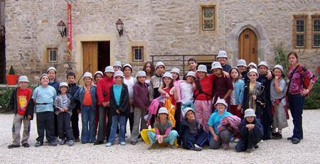 La visite guidée du Château de Malbrouck à conquis les enfants !