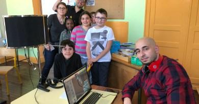 Finalisation des ateliers écriture et chant à Stiring-Wendel et au Luxembourg