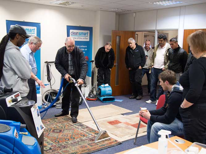 NCCA approved carpet cleaning course