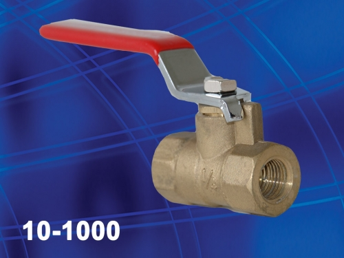 Ball valve for carpet cleaning wand