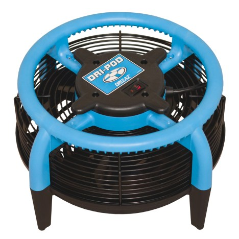 Dri-pod carpet drier