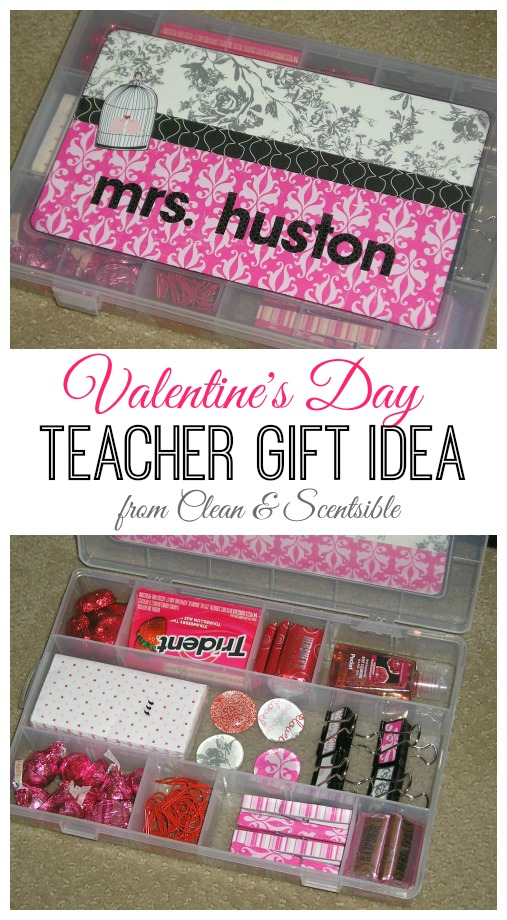 Valentines Day Teacher Gift Clean And Scentsible
