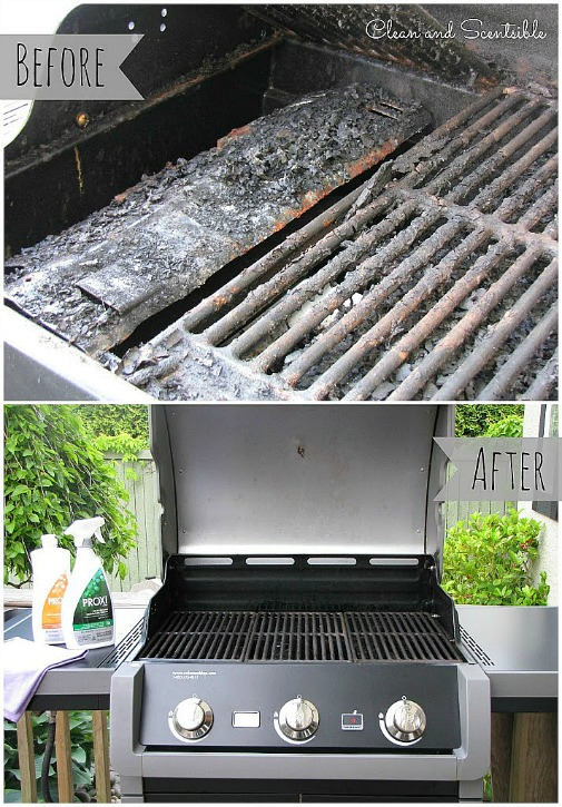 How To Clean A Bbq Clean And Scentsible
