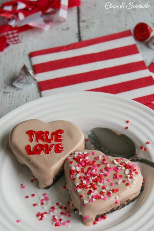 Week 161 Valentine's Day Ice Cream Hearts from Clean and Scentsible